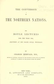 Cover of: The conversion of the northern nations