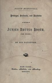 Cover of: Booth memorials