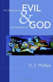 Cover of: The Problem Of Evil And The Problem Of God