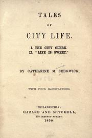Cover of: Tales of city life