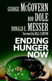 Cover of: Ending hunger now