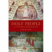 Cover of: Holy People | Gordon W. Lathrop