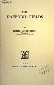 Cover of: The daffodil fields