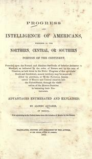 Cover of: Progress of intelligence of Americans |