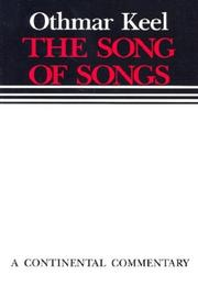 Cover of: The Song of Songs