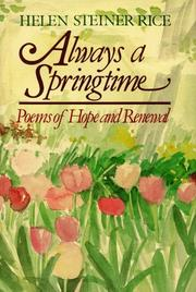 Cover of: Always a springtime: poems of hope and renewal