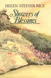 Cover of: Showers of blessings