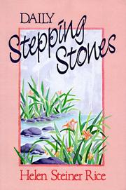 Cover of: Daily stepping stones