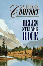 Cover of: A book of comfort