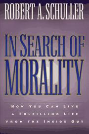 Cover of: In search of morality