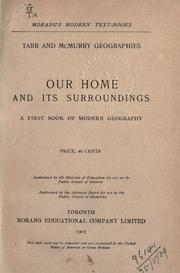 Cover of: Our home and its surroundings..