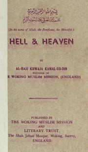 Cover of: Hell & heaven