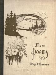 Cover of: More poems by