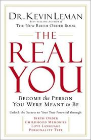 Cover of: The Real You | Dr. Kevin Leman