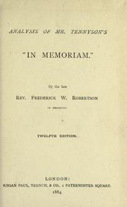 in memoriam tennyson summary and analysis