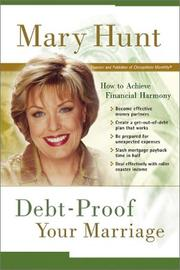 Cover of: Debt-Proof Your Marriage | Mary Hunt