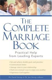 Cover of: The Complete Marriage Book