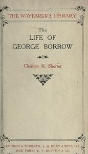 Cover of: The life of George Borrow