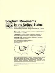 Sorghum movements in the United States by Mack N. Leath