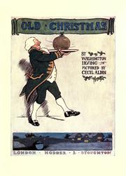 Cover of: Old Christmas: from the sketch book of Washington Irving