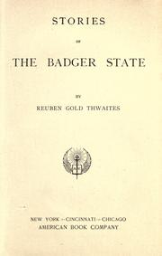 Cover of: Stories of the Badger State