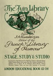 Cover of: Stage, study and studio, as pictured by Fred Barnard [et al.] Edited by J.A. Hammerton