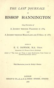 Cover of: Great topic :) | Hannington, James, bp., 1847-1885.