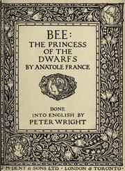 Cover of: Bee | Anatole France