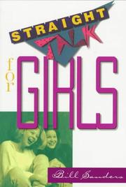 Cover of: Straight talk for girls