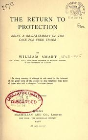 The return to protection by Smart, William