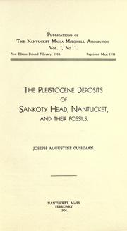 Cover of: The Pleistocene deposits of Sankoty Head, Nantucket, and their fossils