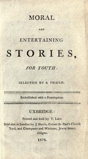 Cover of: Moral and entertaining stories, for youth |