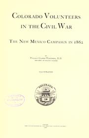 Colorado volunteers in the civil war by William Clarke Whitford
