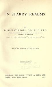 Cover of: In starry realms | Ball, Robert S. Sir