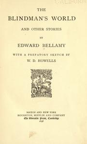 Cover of: The blindman's world: and other stories