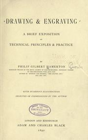 Cover of: Drawing And Engraving