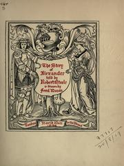 Cover of: The story of Alexander