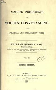 Cover of: Concise precedents in modern conveyancing