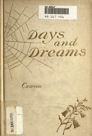Cover of: Days and dreams: Poems