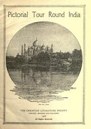 Cover of: Pictorial tour round India