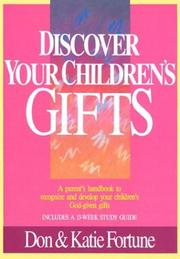 Cover of: Discover your children's gifts