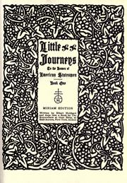 Cover of: Little journeys to the homes of American statesmen