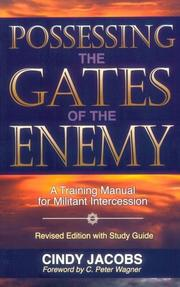 Cover of: Possessing the gates of the enemy