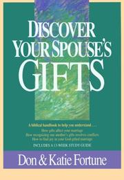 Cover of: Discover your spouse's gifts