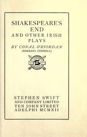 Cover of: Shakespeare's end