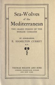 Cover of: Sea-wolves of the Mediterranean