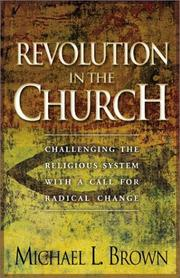 Cover of: Revolution in the Church