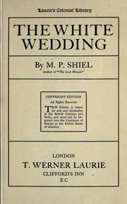 Cover of: The white wedding