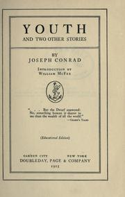Cover of: Youth, and two other stories