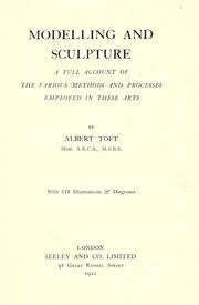 Cover of: Modelling and sculpture | Albert Toft